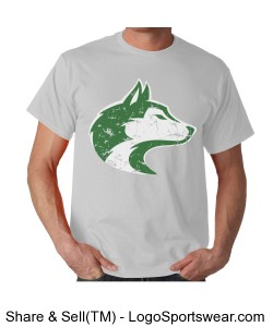 Husky - Adult T Ash Design Zoom