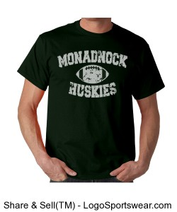 Monadnock Hash Better - Adult T Green Design Zoom