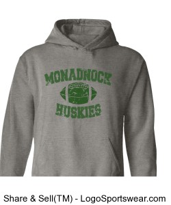 Monadnock/Train Harder - Adult Sweatshirt Design Zoom