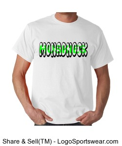 Monadnock Huskies T-Shirt Design Zoom