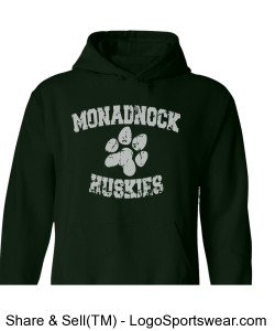 MRHS - adult green sweatshirt Design Zoom